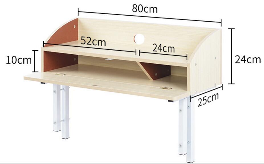 80*24*25 см bed head Поддержка ноутбука стол Спальня без шнурков стол с ящиком
