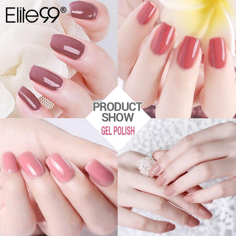 Elite99 10ml Nude Color Series Nail Gel Professionel Farve Gel Polsk - Negle kunst - Foto 4