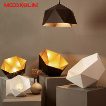 Nordic Pendant Lights For Home Lighting Modern Hanging Lamp Iron Lampshade LED Bulb Bedroom Coffee Kitchen Light 90-260V E27