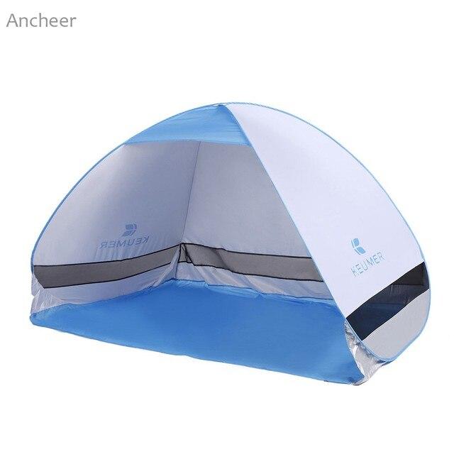 Ancheer Новинка 2017 года палатка горячие продажи на пляже палатки GJ027 автоматическое быстрое складной пляжный палатка 200x120x130 см
