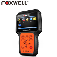 FOXWELL NT624 Full System Car Engine Transmission ABS Airbag SRS Crash Data Reset Diagnostic Tool Auto OBD2 Diagnosis Scanner