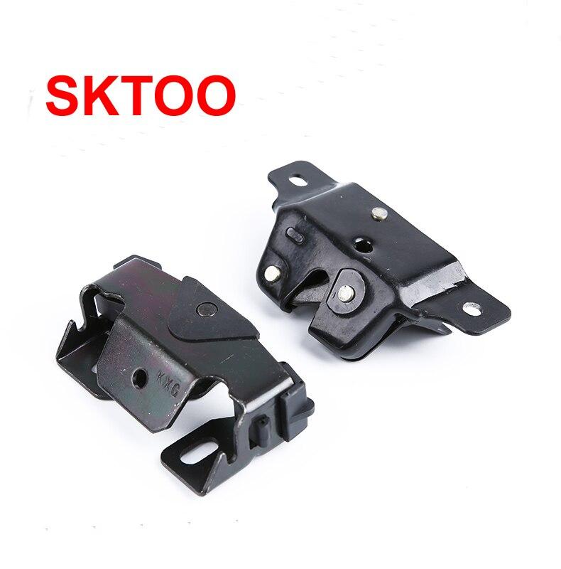 Sktoo Voor Peugeot 206 207 Voor Citroen C2 Auto Kofferbak Deur Hatchback Achterklep Boot Lock Catch