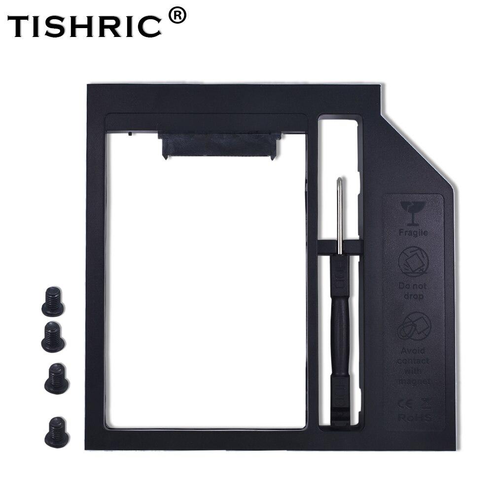 TISHRIC для 9,5/9 мм DVD ROM SATA 3,0 Caddy Optibay для 2nd 2,5 HDD SSD Внешний жесткий диск корпус универсальный чехол адаптер Корпус жесткого диска      АлиЭкспресс