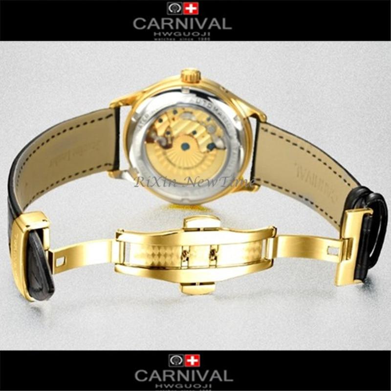 Leucht Automatische Original Wasserdicht Uhren Kalender Mode Männer Mechanische Uhr Karneval Marke Top Multifunktions qMSUpVGz