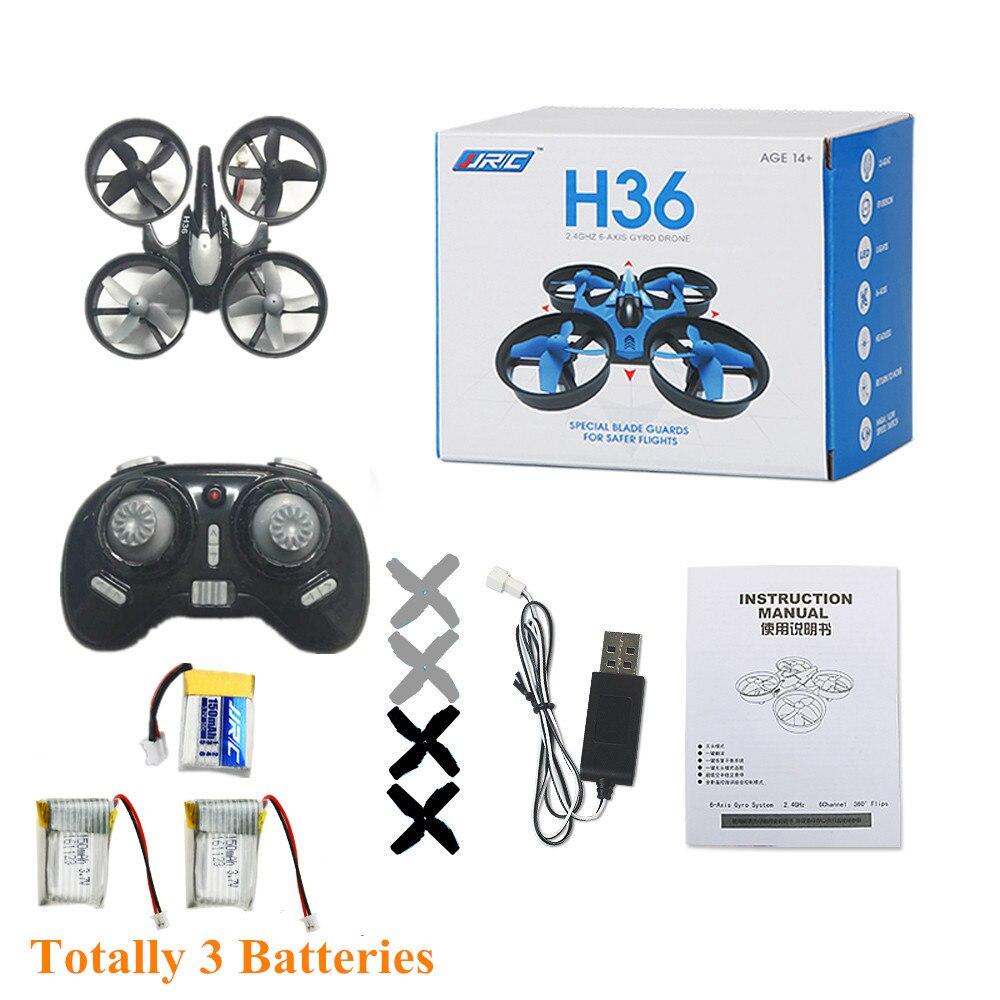Jjrc h36 mini nano rc quadcopter drone un retour key sans tête mode rc quadrirotor vs jjrc h8 h20