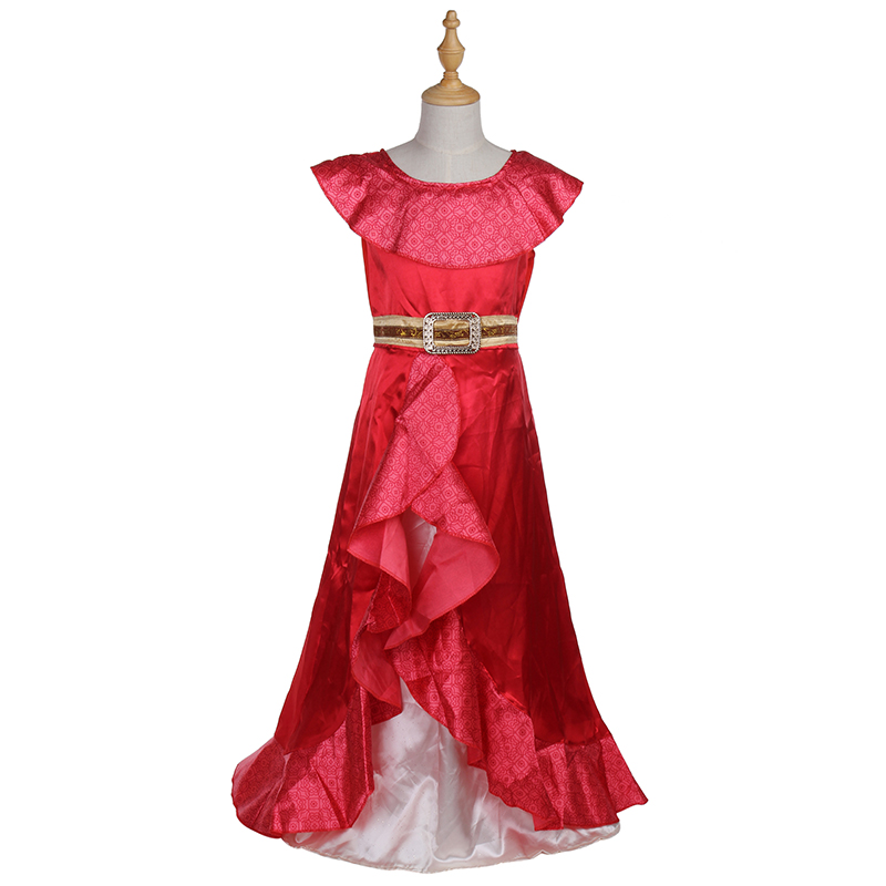 Parduoda Merginos Naujas Mėgstamiausia Latina princesė Elena iš TV - Karnavaliniai kostiumai - Nuotrauka 2