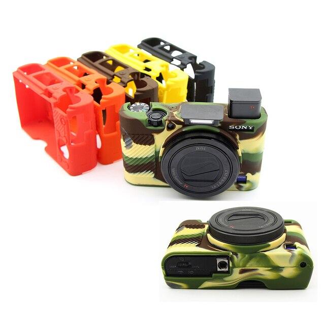 Rubber Silicon Case Cover Protector Soft Housing Frame for Sony RX100 III IV V M3 M4 M5 RX100M3 RX100M4 RX100M5 Camera