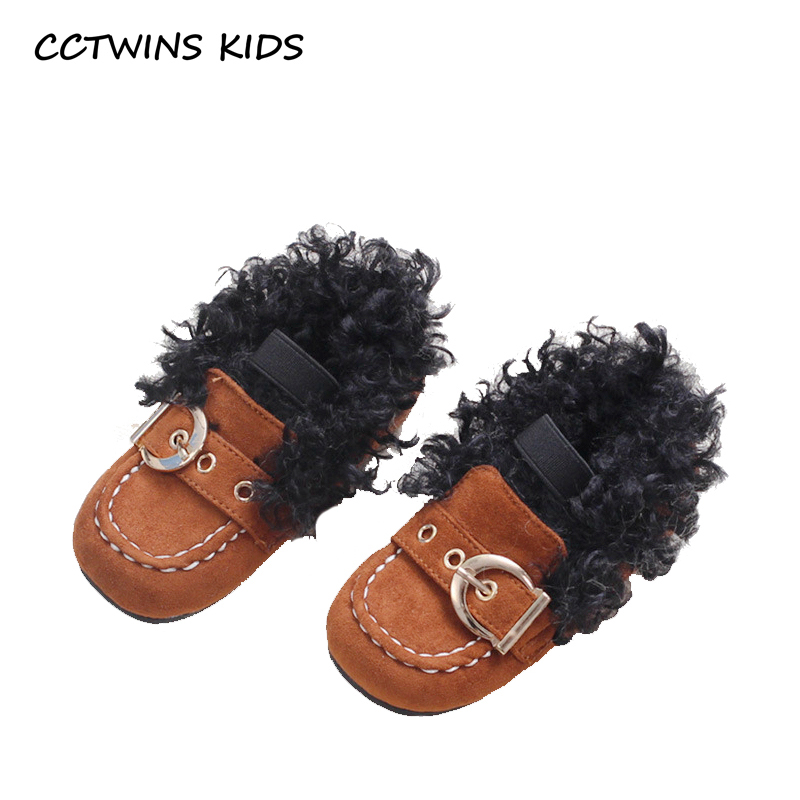 CCTWINS KIDS 2018 Winter Toddler Genuine Leather Flat Children Fashion Slip On Shoe Baby Girl Brand Warm Loafer GL2005 adidas performance natweb i slip on shoe toddler