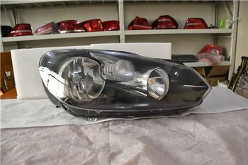 Qirun car accessories front headlight assembly for Volkswagen golf 6