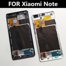 Original FOR Xiaomi MI note LCD Display With Frame+Touch Screen For Xiaomi MI note Display LCD Screen все цены