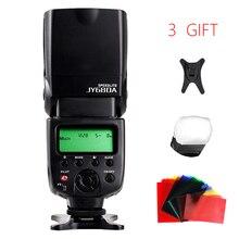 V ILTROX JY680Aสากลจอแอลซีดีกล้องแสงแฟลชS Peedliteด้วยฟรีแฟลชสีกรองสำหรับCanon Nikon Pentax Olympus DSLR