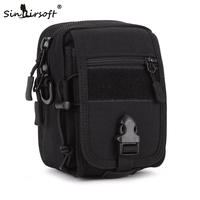 New Arrival SINAIRSOFT Outdoor Cycling Bag Tactical Military Molle Hip Waist Belt Wallet Pouch Purse Molle