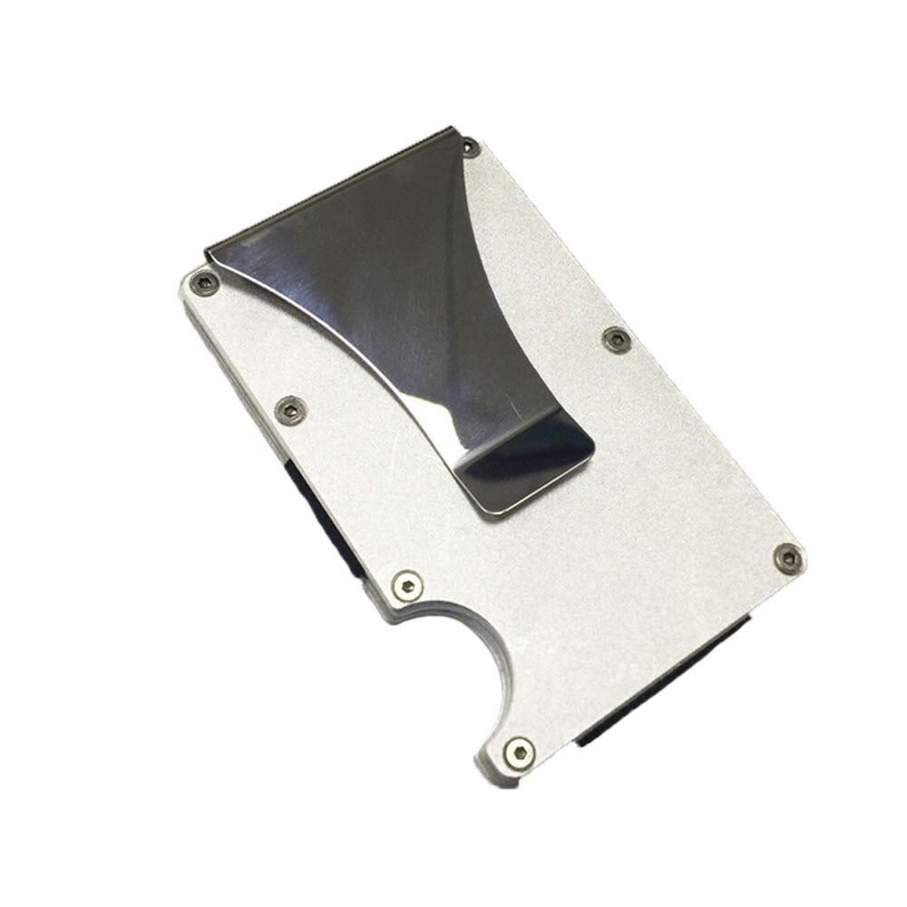Metall Brieftasche Kreditkarte Halter OCARDIAN Karte & ID Halter Männer Aluminium Brieftasche Mit Blockieren Dropship