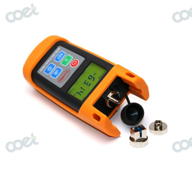 FTTH Fiber Optical Test Tool Fiber Optic Power Meter KPM-25M OPM Tester with SC Connector