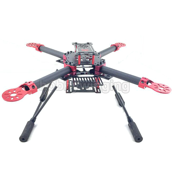 GF-400 FPV Carbon Fiber Quadcopter Frame 400mm Wheelbase with Landing Skid Gear track frame fixed gear frame bsa carbon 1 1 2to 1 1 8 bike frameset with fork seatpost road carbon frames fixed gear frameset