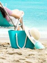 NEW 2019 Xiaomi Jordan&Judy Water Proof Silica Beach Bag Bucket One Piece Swimming Womens Shoulder