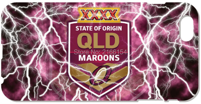 2016 Queensland Maroons Cell phone Cover For iphone 5 5S SE 5C 6 6S Touch 5 6 For Samsung Galaxy J1 J3 J5 J7 A3 A5 A7 A8 Case