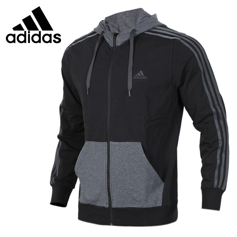 Original New Arrival 2018 Adidas ISC HTT FLC 3S Men's jacket Hooded Sportswear цена