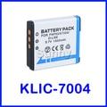 KLIC 7004 KLIC-7004 Li-Ion Rechargeable Battery for Kodak Easyshare M1033,M1093 IS,M2008,V1073,V1233,V1253,V1273 Digital Camera
