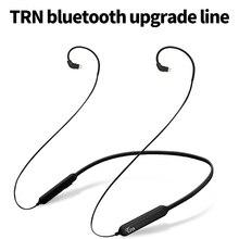 Новый TRN BT3 Беспроводной Bluetooth 4,1 APT-X кабель с 2PIN Интерфейс для KZ ZS10 ZS6 ZS5 Знч ES3 СЖД ZS3 2PIN разъемы