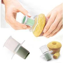 Divider Tools Cupcake Plunger Cutter Creative DIY Cake Corer Decorating