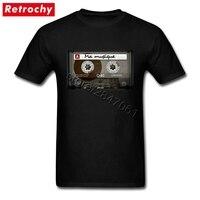 Qualité D'impression T-shirts Vintage Bande Gars Manches Courtes O-cou Coton T Shirt Hommes de Petite Amie Petit Ami Urbaine Hip Hop vêtements