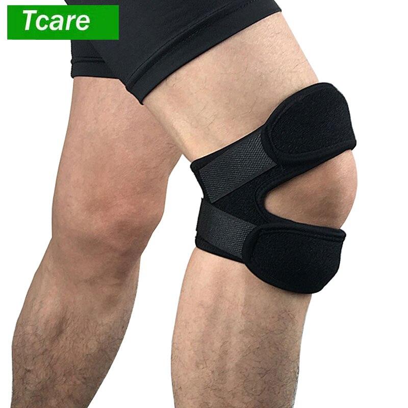 1 шт. надколенника наколенника Поддержка ремень для бега спорта баскетбол приседания разрыв мениска артрит ACL до колена боли