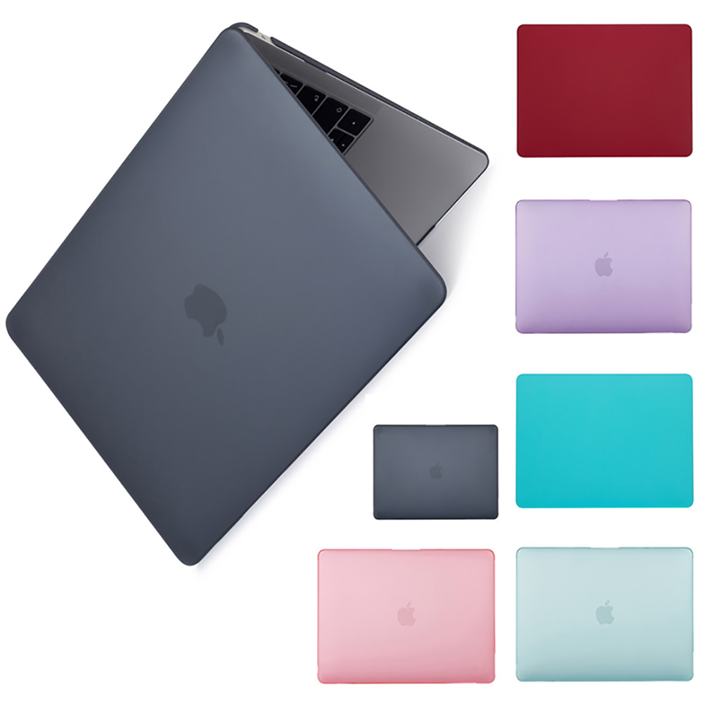 New Hard shell Matte Frosted Case Cover Sleeve For MacBook Air Retina Pro 11 12 13 15 inch 2019 New Pro 16 inch model A2141 case(China)
