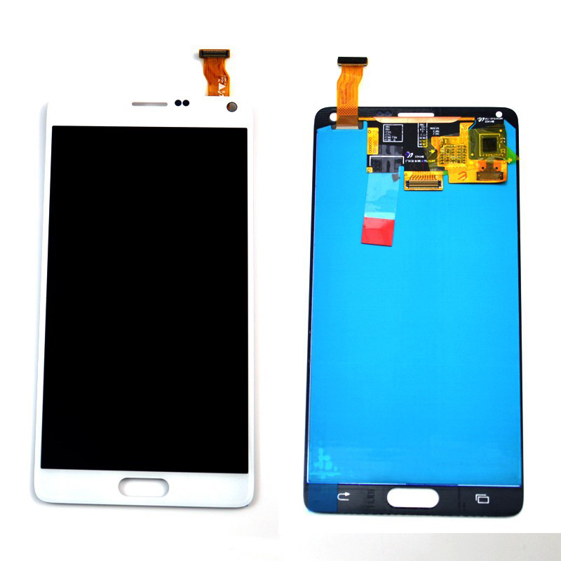LCD display touch screen assembly For Samsung Galaxy Note 4 N910 N910A N910T N910V N910P , Gray White free shipping+tracking No.