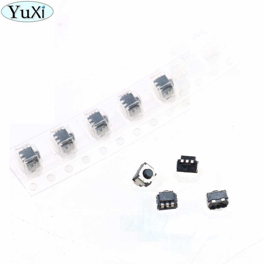 YuXi 10pcs/lot LR Button Key Press Microswitch For Nintend Switch L Keys On-Off R Buttons Disjunctor For Switch NS Console