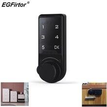 Digital Smart Electronic Password Lock Security Alarm Touch Screen Lock Cabinet Keypad Drawer Office Digital Electronic Lock
