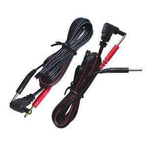 100 ⑤ упак. Замена электрода свинцовые провода подключения кабелей Pin 2 мм для десятков 7000 и десятков электронных терапевтических масейных ма...
