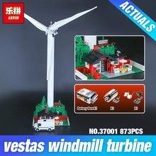 Lepin 37001 Creative Série La Vestas Moulin À Vent Turbine Ensemble Enfants Éducatifs Blocs de Construction Briques Jouets Modèle Cadeaux 4999