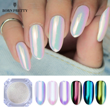BORN PRETTY Neon Glitter Mirror Nail Powder 0.2g Ultra-thin Mermaid Chrome Pigment Manicure DIY Nail Art Decorations