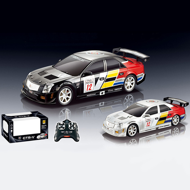 Licensed 1 24 Rc Car Model For Cadillac Cts Remote Control Radio Racing