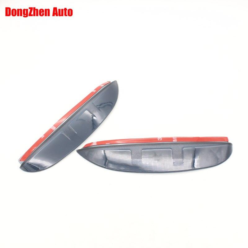 Dongzhen 1pair Rearview Mirror Rain Eyebrow Reflective