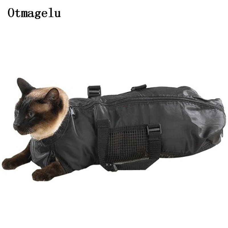 Pet Dog Cat Grooming Bag Cover Cat Limit Carriers Bag For Preventing Scratch Bite Holder To Help Bathe Injecting Pet Accessories