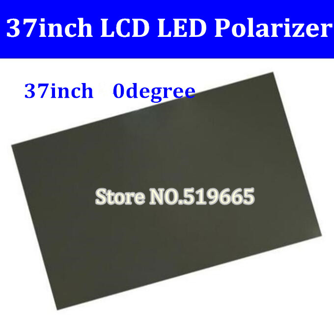 New 37inch 37 inch 0 degree Glossy LCD Polarizer Polarizing Film for LCD LED IPS Screen for TV great spaces home extensions лучшие пристройки к дому