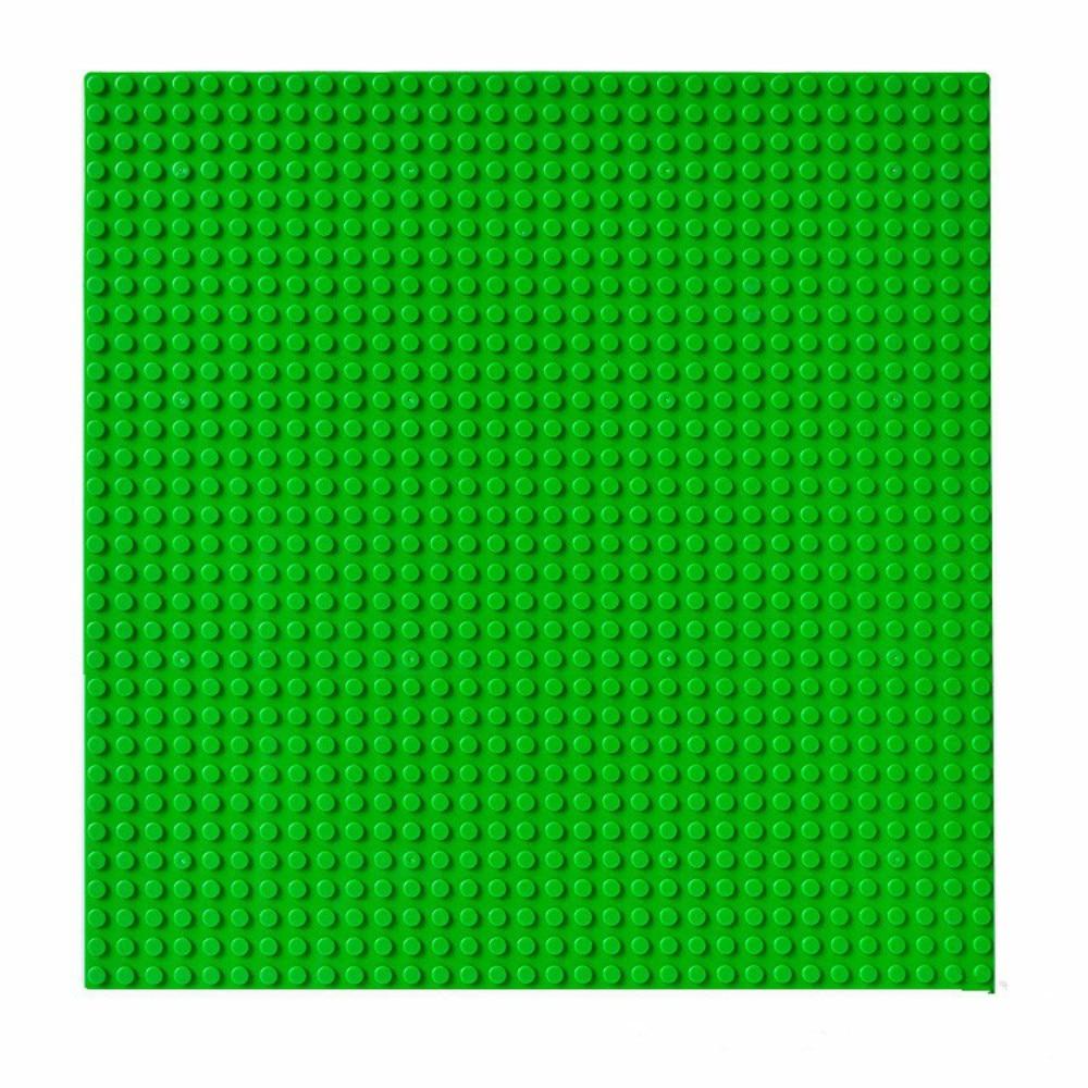 Lecgos 1pcs Blocks DIY Baseplate with Size 25.5*25.5cm of 32*32 dot figures Bricks Base plate With Lecgos new big size 40 40cm blocks diy baseplate 50 50 dots diy small bricks building blocks base plate green grey blue