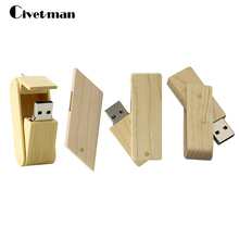 The Wooden rhombus USB Flash Drive pendrive 8GB 16GB 32GB 64GB Small swival Pen Drive USB Stick pen drive