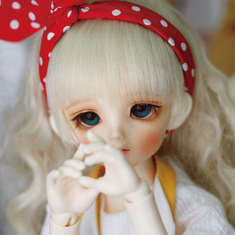 2018 New Arrival 1/4 Bjd Doll Sd Lovely Heidi Joint Resin With Makeup For Baby Girl Birthday Present
