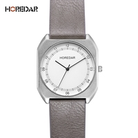 HOREDAR Brand New Fashion luxury Elegant woman Watches Simple Ultra Thin Square dial Casual Quartz Clock Ladies Wristwatch Gift