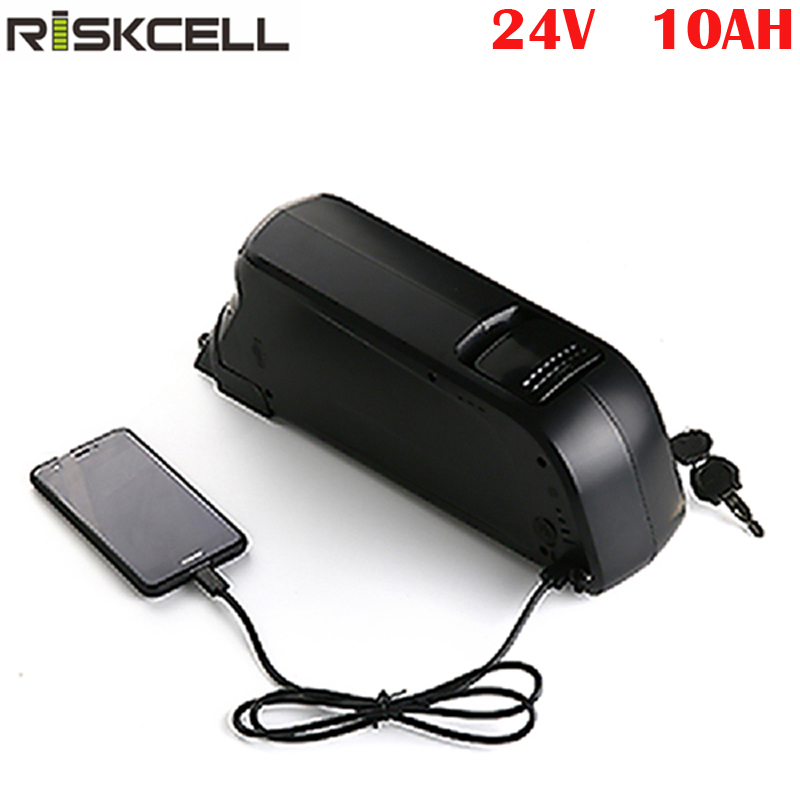 36V 10AH Electric Bicycle Lithium Battery Pack Charger Kit 250-350W E-bike US