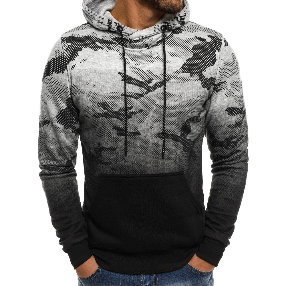 2018 New Fashion Men's Leisure Hoodie Hot Style Set Headside colours Matching Hooded Men's Velvet Of Good Quality Hoodie XXXL