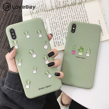 Lovebay For iPhone 7 Case Cute Cactus Plants Flowers For iPh