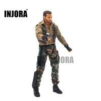 RC Crawler Man Driver Doll For 1 10 RC Rock Crawler Axial SCX10 Wraith Traxxas TRX