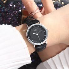 купить XIAOYA Brand Fashion Women Wrist Watches Leather Strap Simple Quartz Watch Women Female Clock Montre Femme 2019 Relogio Feminino по цене 227.56 рублей