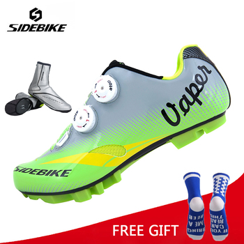 Sidebike Professional Cycling Shoes Mountain Bicycle Racing shoes Self-Locking Bike sapatilha MTB Shoes zapatillas ciclismo