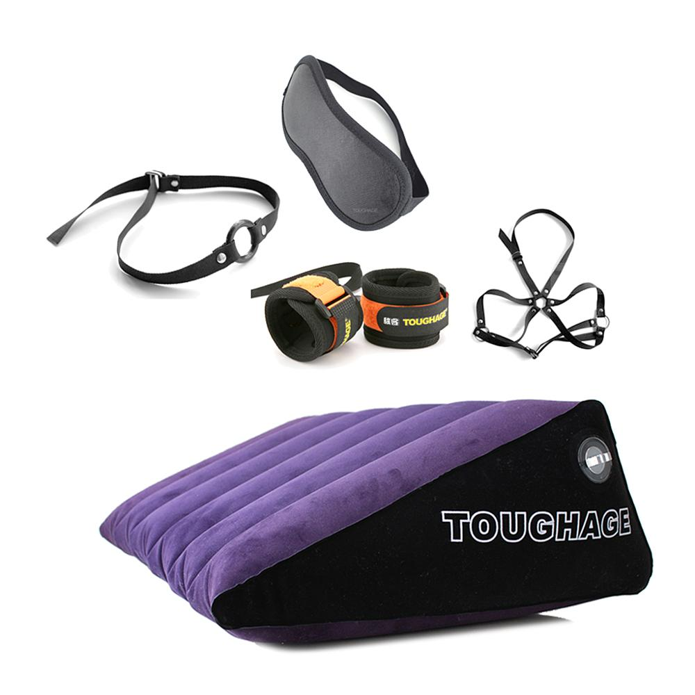Inflatable Position Pillow Suits- Magic Cushion Furniture for Family Position Support Pillow with BondageInflatable Position Pillow Suits- Magic Cushion Furniture for Family Position Support Pillow with Bondage