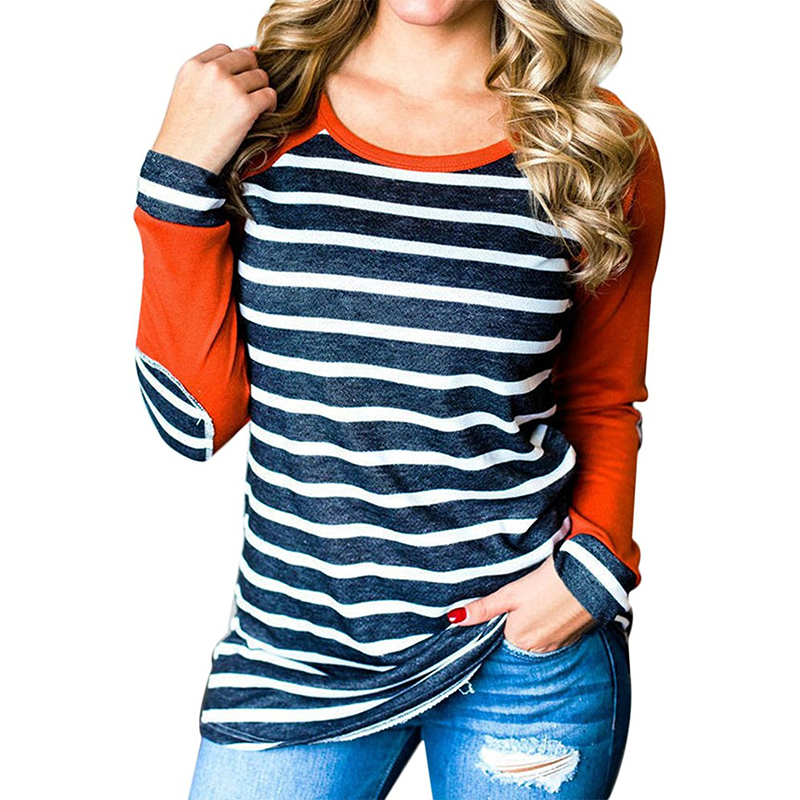 Fashion style Shirts Striped and tops for women for woman